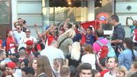En Russie, la consommation de bière des supporters surprend les restaurateurs
