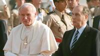 Les présidents français au Vatican