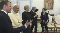 Emmanuel Macron plaisante avec le pape : «Les Bretons c?est la mafia française»