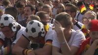 Coupe du Monde : la déception des supporters allemands