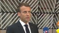Emmanuel Macron : «Je défendrai des solutions européennes»