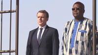 Emmanuel Macron de retour en Afrique