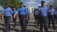 Les pénitentiaires s'entraînent pour le défilé du 14 juillet