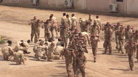 Les troupes irakiennes formées par des légionnaires français