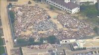 Japon : impressionnants dégât après les inondations
