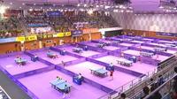 Les deux Corées se réunissent le temps d'un tournoi de ping-pong