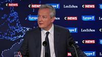 Bruno Le Maire : «Mélenchon a perdu dans les urnes et veut sa revanche dans la rue»