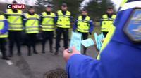 Distribution d'éthylotests et prévention pour les gendarmes