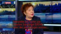 Propos sexistes : Esther Benbassa demande des excuses