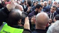 Le passe d'armes entre Emmanuel Macron et Alexandre Benalla