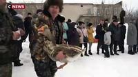 Russie : des combats d'oies en Russie