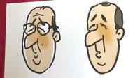 Emmanuel Macron caricaturé et exposé en Suisse