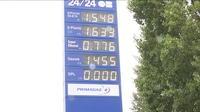 Nouvelle flambée des prix des carburants