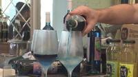 En Espagne, on produit du vin bleu