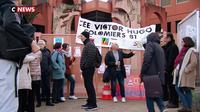 Des enseignants en grève pour protester contre le projet de loi Blanquer