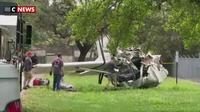 Etats-Unis : Un avion s'écrase sur une maison