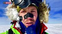 Il traverse l'antarctique seul et sans assistance