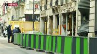 Explosion rue de Trévise : un mois après, la vie reprend son cours