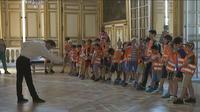 Une journée de vacances à Versailles
