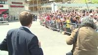 Emmanuel Macron tente d?oublier l?affaire Benalla dans les Pyrénées
