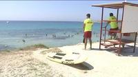 Sur les plages, les secouristes veillent