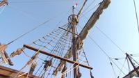 Le bateau de Christophe Collomb est au port