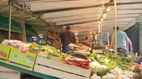 Canicule : Les marchés souffrent de la chaleur