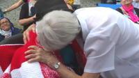 Une miraculée en aide à Lourdes