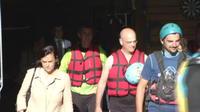 Ariège: le ministre fait du rafting