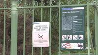 Des parcs sans tabac à Paris