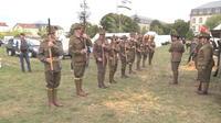 Une reconstitution historique à Verdun