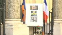 A Charles Aznavour, l?église arménienne de Paris reconnaissante