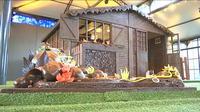 Une maison tout en chocolat