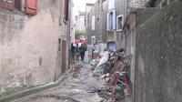 Inondation dans l?Aude : les opérations de nettoyage ont commencé