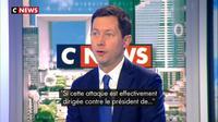 """François-Xavier Bellamy : """"Jamais la violence ne doit prendre le pas sur le débat"""""""