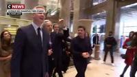 Paris : inauguration d'un nouveau magasin pour les Galeries Lafayette sur les Champs