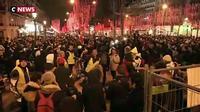"""Les """"gilets jaunes"""" sur les Champs-Elysées"""