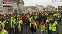 Gilets jaunes : 1.200 personnes rassemblées à Bourges