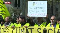 Les «gilets jaunes» ont peu d'espoir dans les futures annonces d'E. Macron