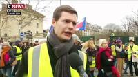 Gilets jaunes : les manifestations se sont déroulées dans le calme à Paris