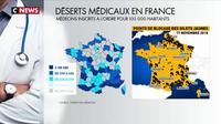 Gilets jaunes : la désertification médicale en question