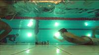 Une partie d'échecs sous l'eau
