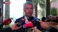 Drôme : Laurent Wauquiez critique le débat d'Emmanuel Macron