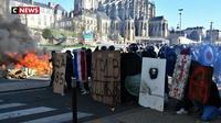 Violents affrontements au Mans entre forains et forces de l'ordre