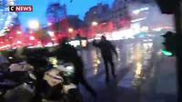 Gilets jaunes : des tensions sur les Champs-Elysées