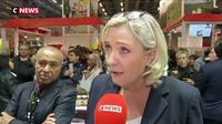 Salon de l'Agriculture : Marine Le Pen dénonce la politique libérale menée par Emmanuel Macron