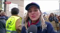 Paris : Marion Cotillard et Guillaume Canet ont marché contre le changement climatique