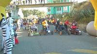 Incroyable course de karting dans les rues de La Paz en Bolivie