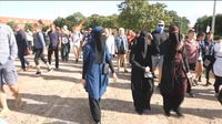 Des manifestations au Danemark contre l'interdiction de la burqa