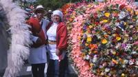 C?est la foire aux fleurs en Colombie